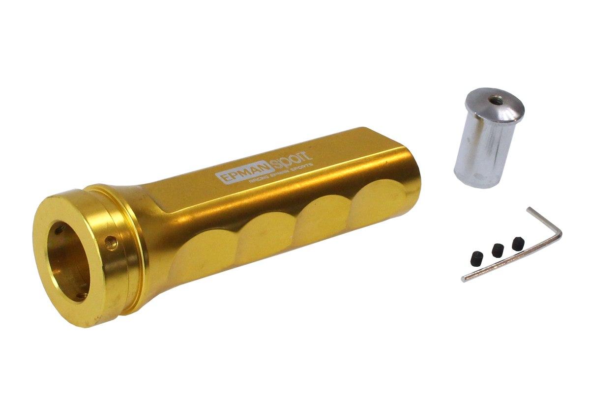 Uchwyt hamulca ręcznego aluminiowy Złoty - GRUBYGARAGE - Sklep Tuningowy